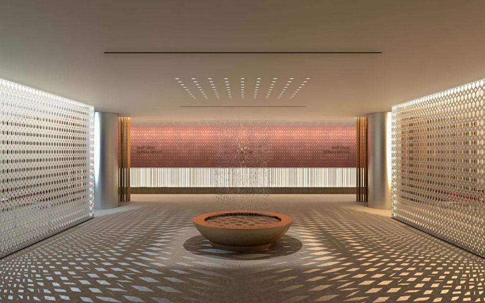 Doha Airport, Al Maha lounge (Antonio Citterio, Patricia Viel & partners) - Qatar