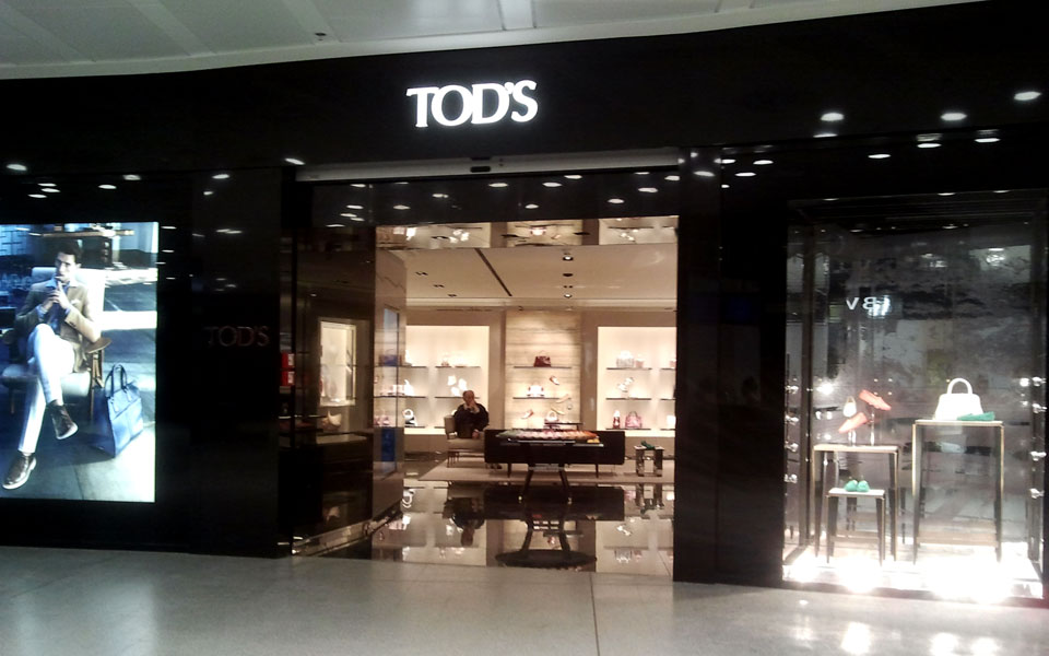 Tod's aeroporto di Malpensa