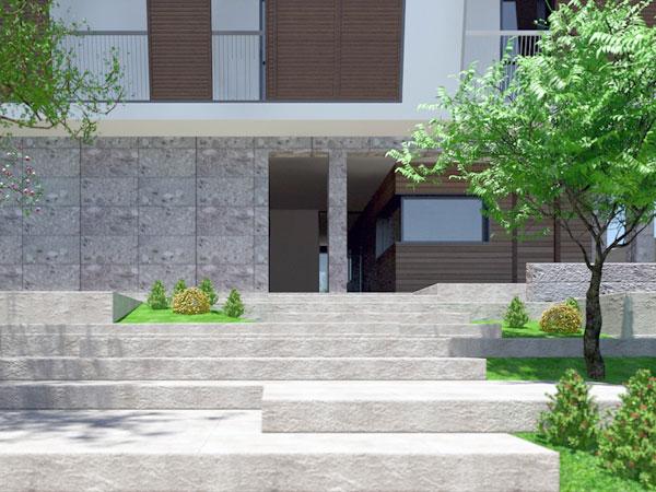Edificio Residenziale via Clitumno