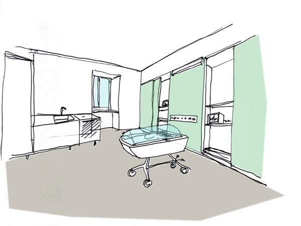 Reparto Neonatologia, Ospedale di Monza
